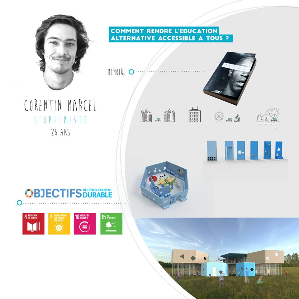 Corentin Marcel, l'optimiste, startup le collectif SD