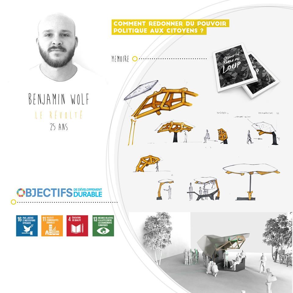 Benjamin Wolf, le révolté, startup le collectif SD