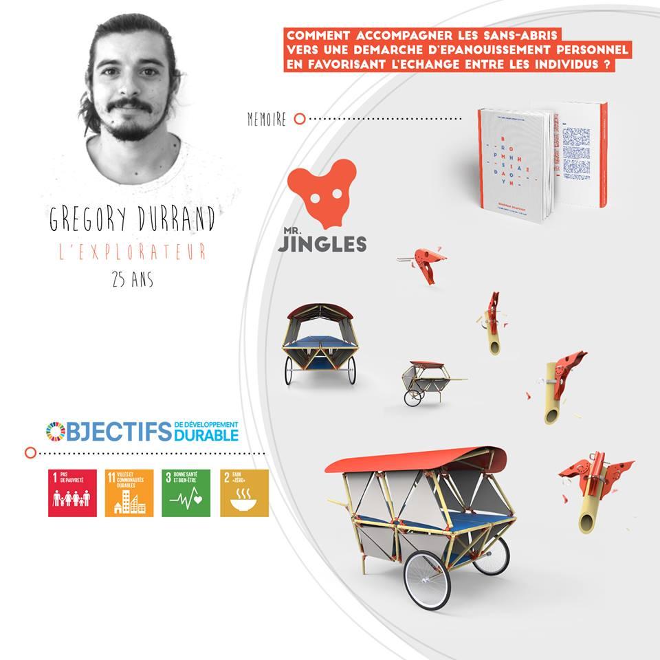 Grégory Durrand, l'explorateur, startup le collectif SD