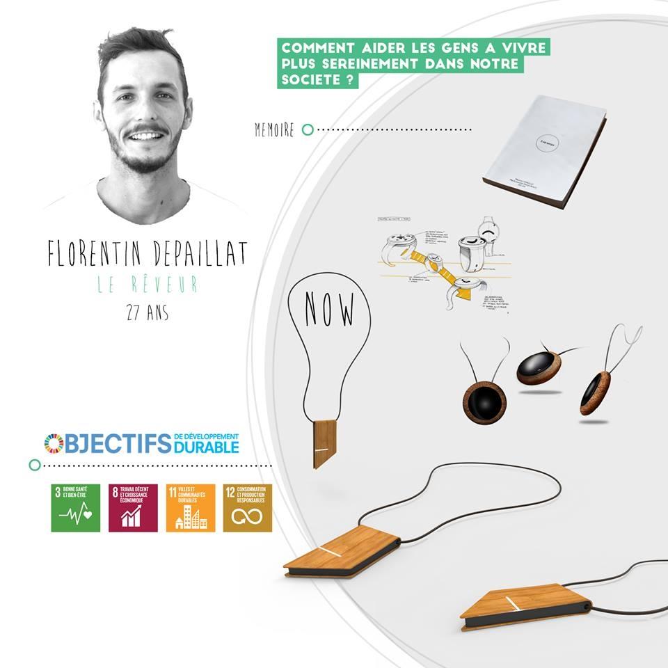 Florentin Depaillat, le rêveur, startup le collectif SD
