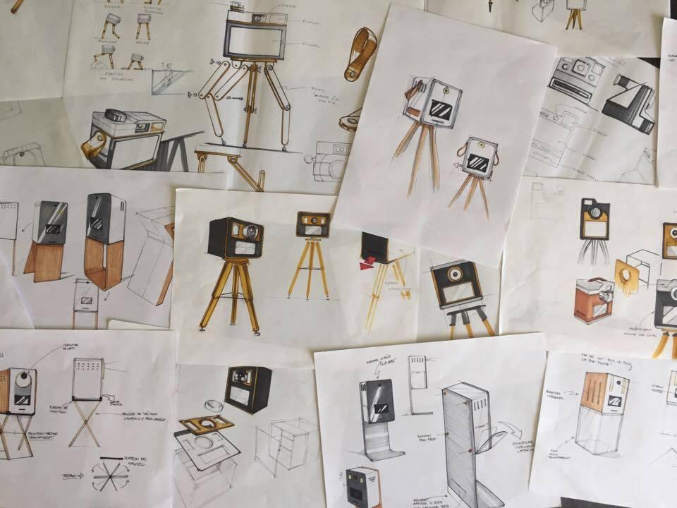 Projet, PHOTOBOX, le collectif, sustainable design
