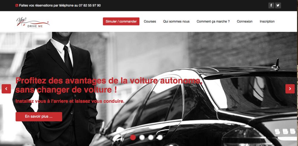 Yesdriveme.com, plateforme de location de chauffeurs à la demande