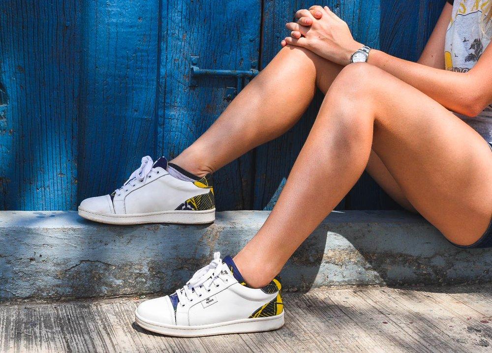 Sneakers Wibes, modèle N'Zassa Mexique