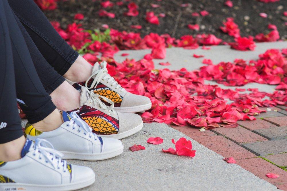 Sneakers Wibes, modèles AKWABA + N'Zassa