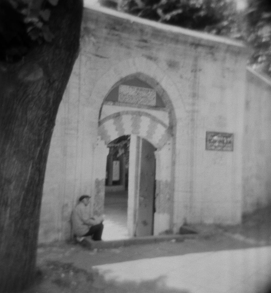 Istanbul - Man Outside Mosque