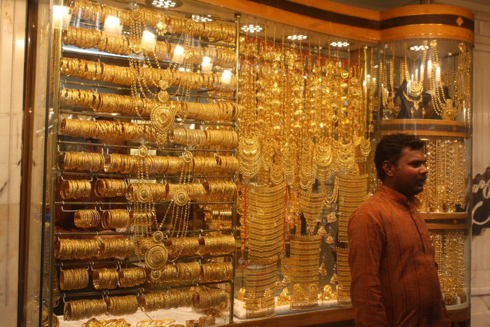 The Gold Souk.