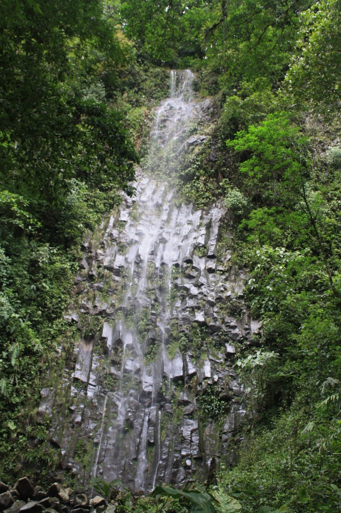 A waterfall we saw on our journey to *the* waterfall