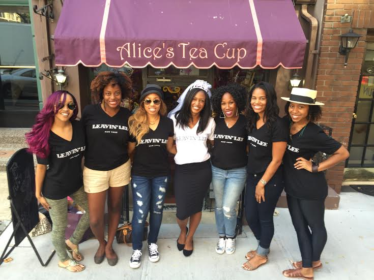 Bridal Party at Alice's Tea Cup