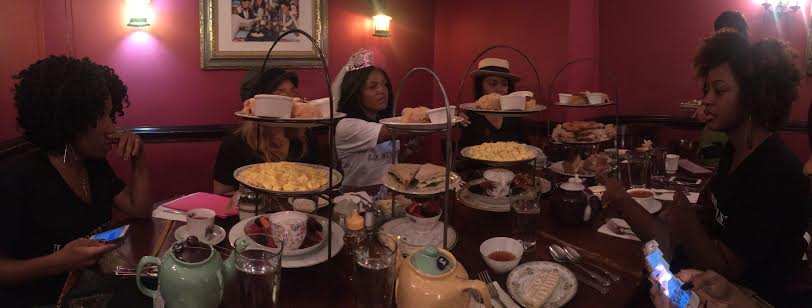 Afternoon Tea at Alice's Tea Cup