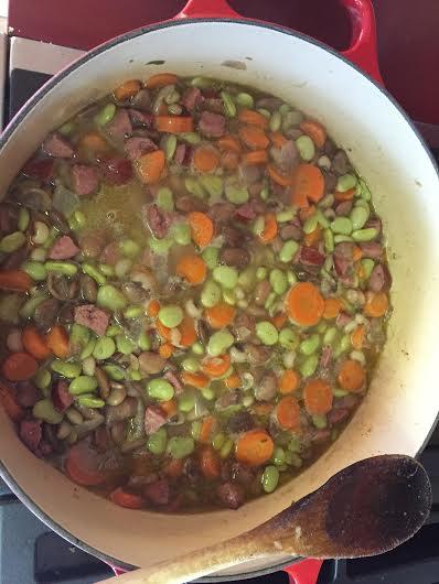 three bean cassoulet