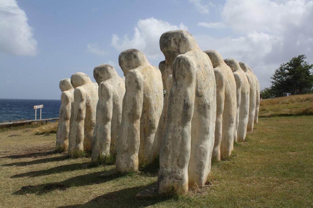 Slave Memorial at Anse Cafard