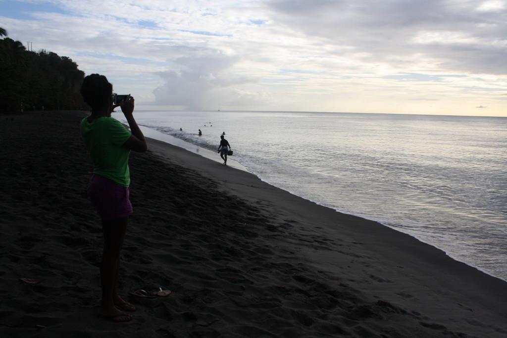Dusk at Le Carbet, Martinique