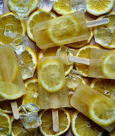 Lemonade Popsicles