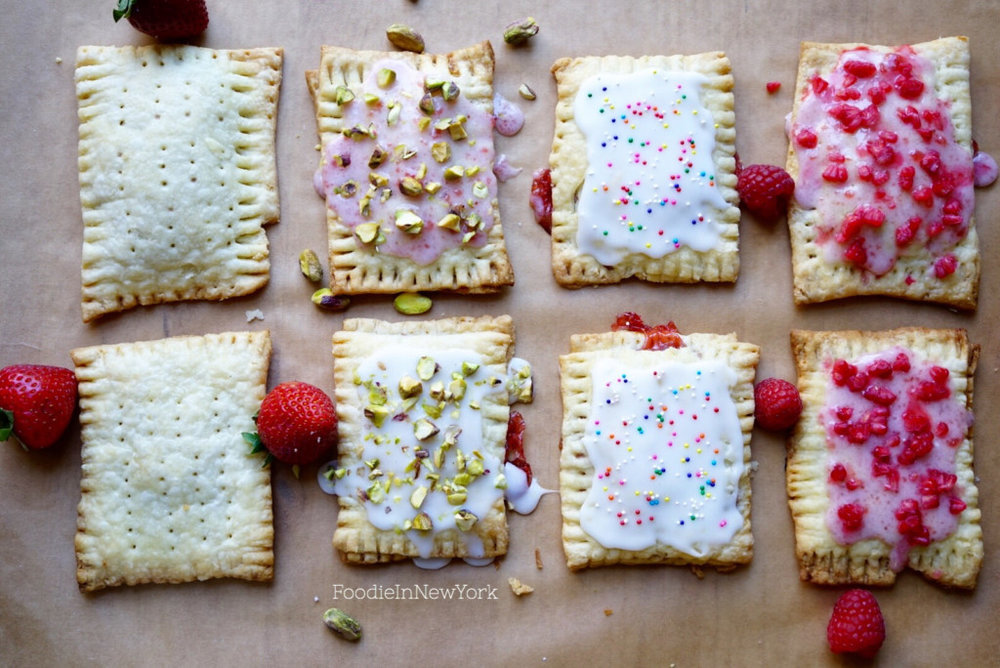 Why stop with sprinkles? I added chopped pistachios and chopped raspberries to some.