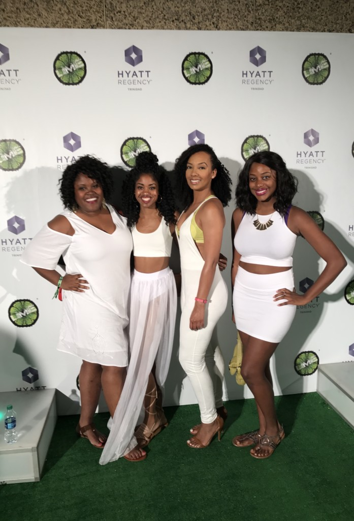 All-white party at Lime Fete