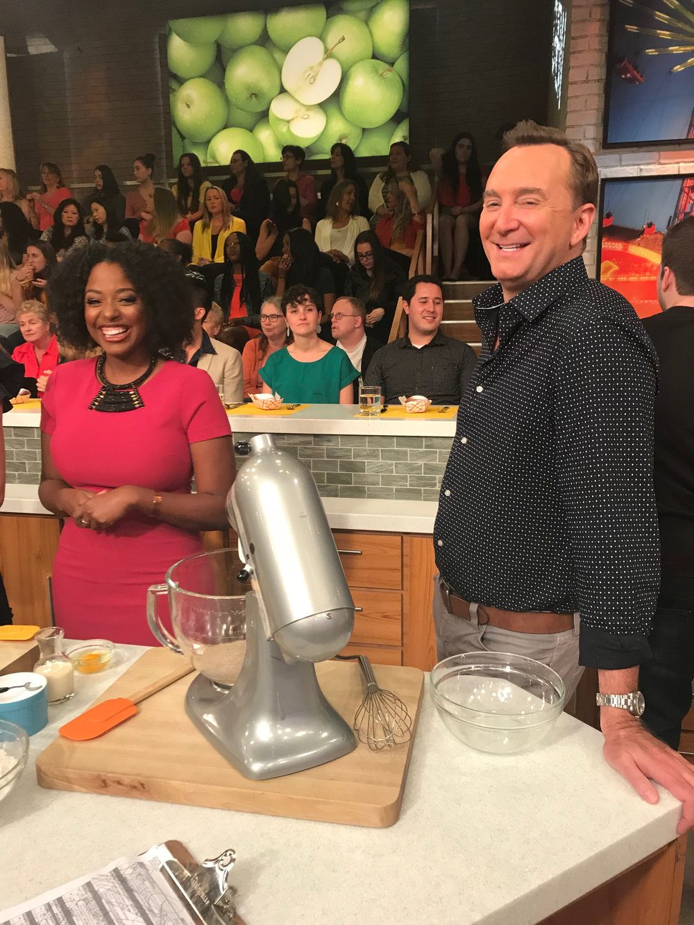 vallery lomas clinton kelly the chew.jpg