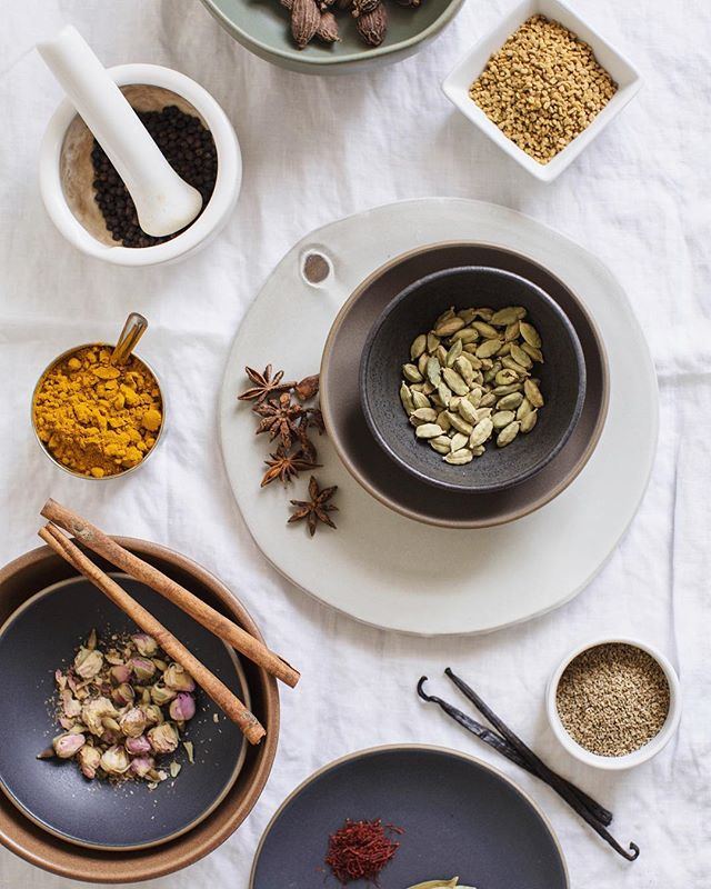 Coconut sugar, spice and everything nice. Merry Merry ✨ love from our Ayurvedic kitchen to yours. #vidyalivingretreats photo @claireragz