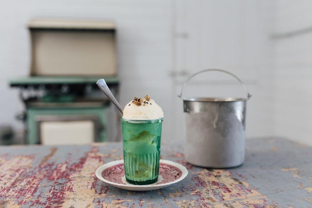 Gillian's cardamom ice-cream