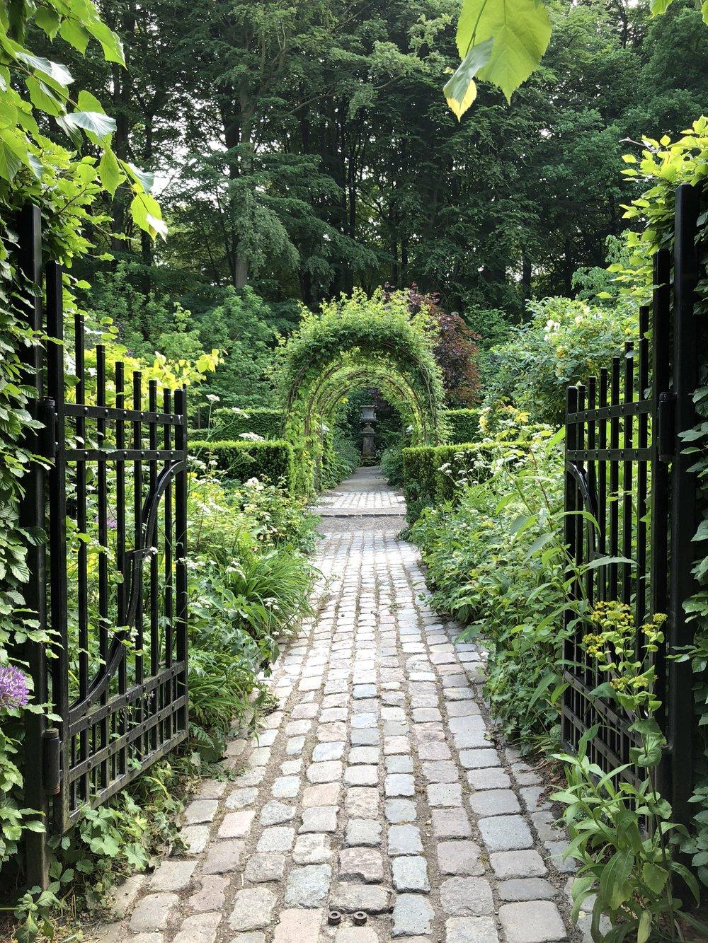 Celebrated Danish gardener, Claus Dalby's garden. Aarhus, Denmark.