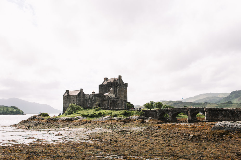 Eilean Donan, a 13th century Castle near Kyle of Lochalsh
