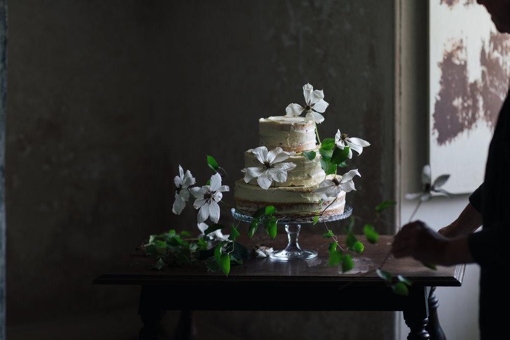 Cake preparations begin