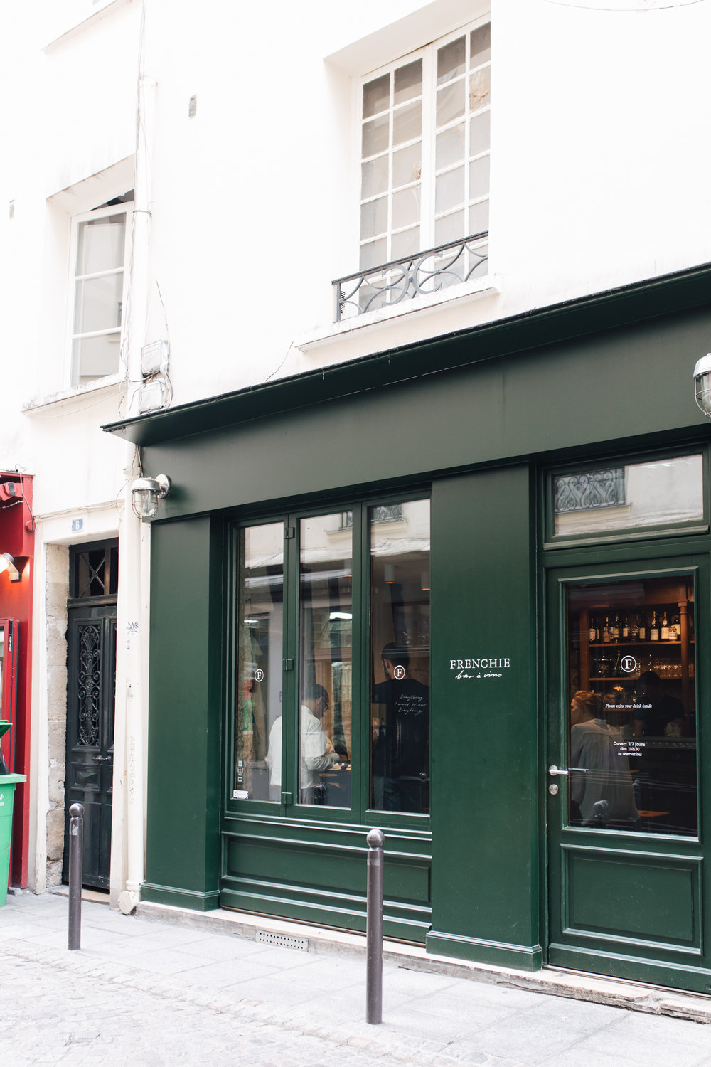 I adored this restaurant -  Frenchie Bar a Vins  which, as its name suggests, is the more casual wine bar version of  Frenchie  across the lane way. You need to book for Frenchie, but not for the wine bar, so get there early.