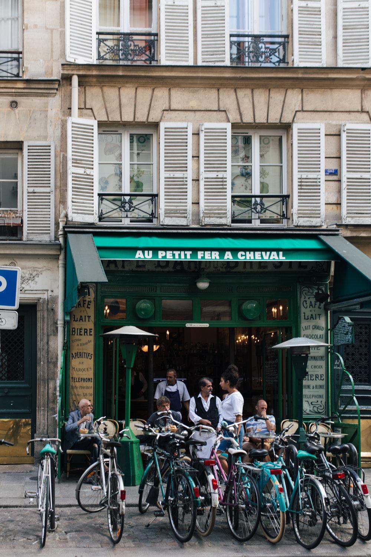 Au Petit Fer a Cheval in the Marais