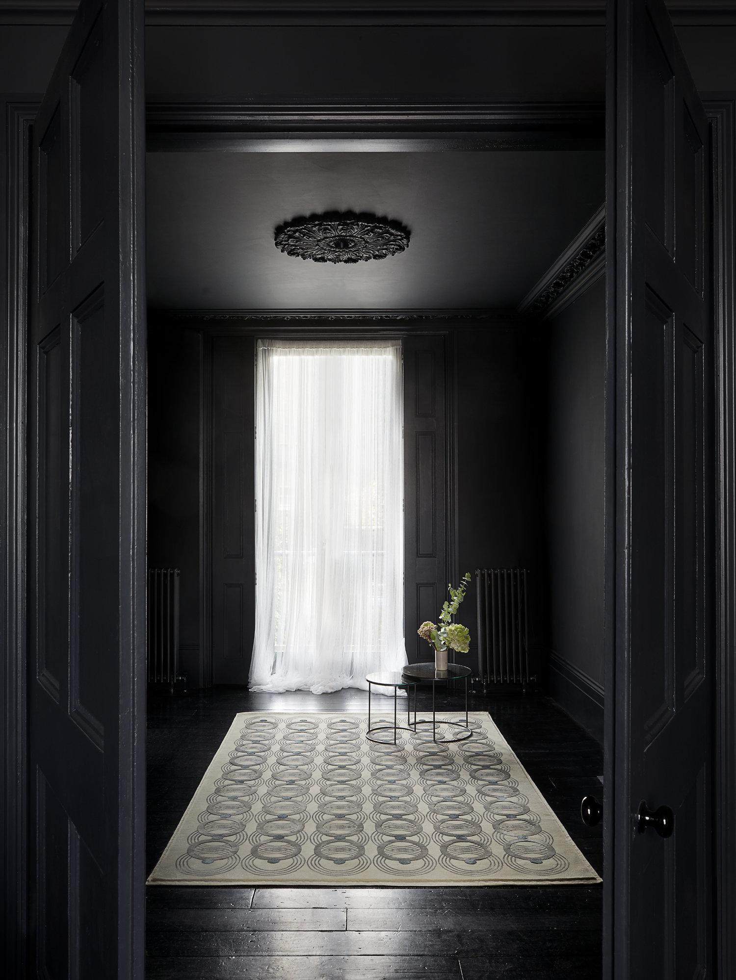Loop dove cream rug