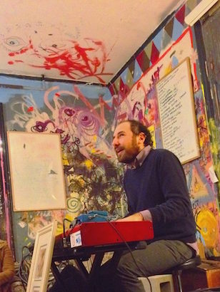 Greg Nahabedian - Greg Nahabedian, one half of the team that founded Dollhouse Lightning, composer and performer. Member of Cheap City, MCTheProfessor.Gov, Dérive, etc.WEBSITEFACEBOOKINSTAGRAMBANDCAMP