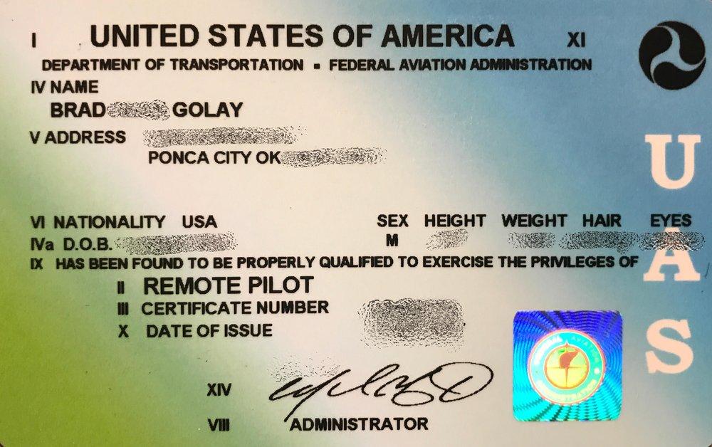 faa certified — hangar 18 drone company