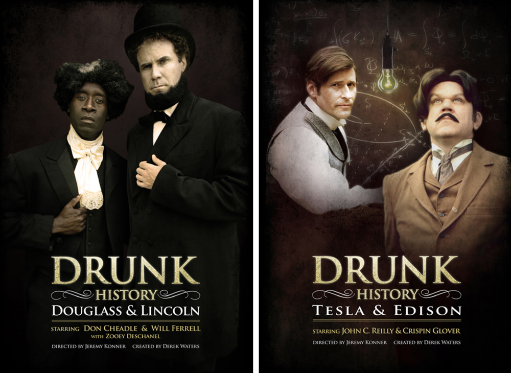Drunk History (logo and poster)