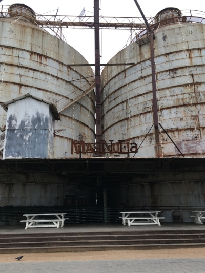 Looking at something like rusted silos it might be hard to imagine how it could be transformed into a thriving, beautiful and engaging asset to the community...but it is! What was accomplished here is truly inspirational to me.