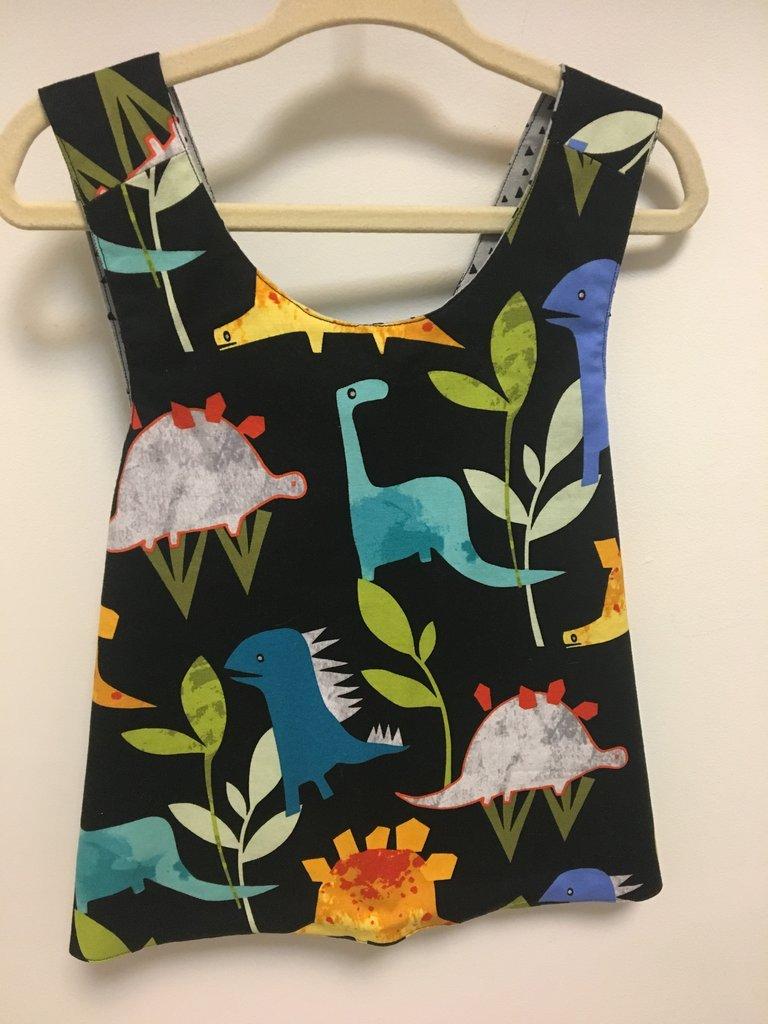 Baby Dino Dress by Owl & Hop
