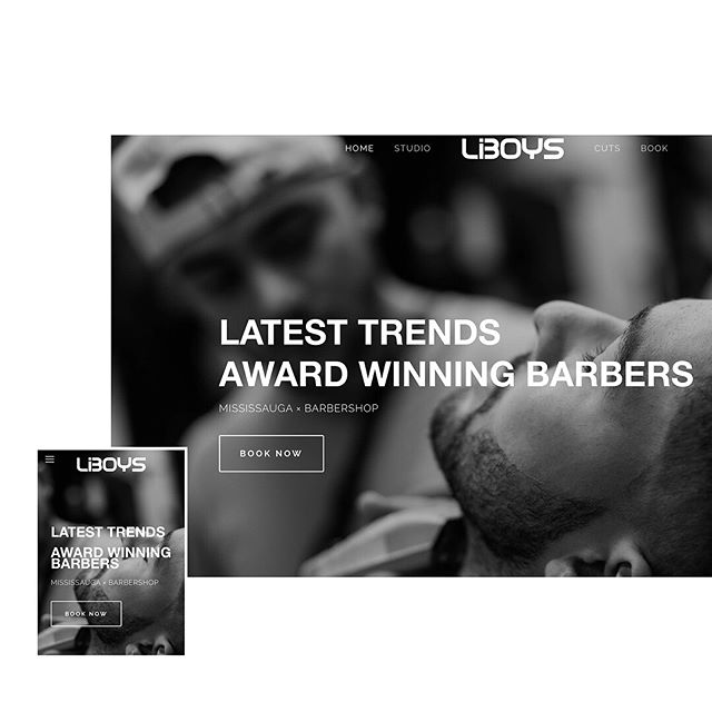 You asked, we listened... Our NEW website is HERE!  Same website with a brand new look. Most importantly, easy to use and easier to book!  www.liboys.com  #Liboys #Mississauga #GTABarbers #NewWebsite
