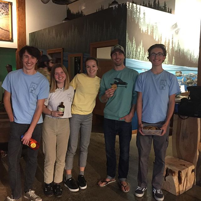 Post bake sale at @patagoniaportland tonight! Head on down to catch @sonnietrotter speak about his climbing experiences and grab a delectable baked good!! We will be here till 9 or so.