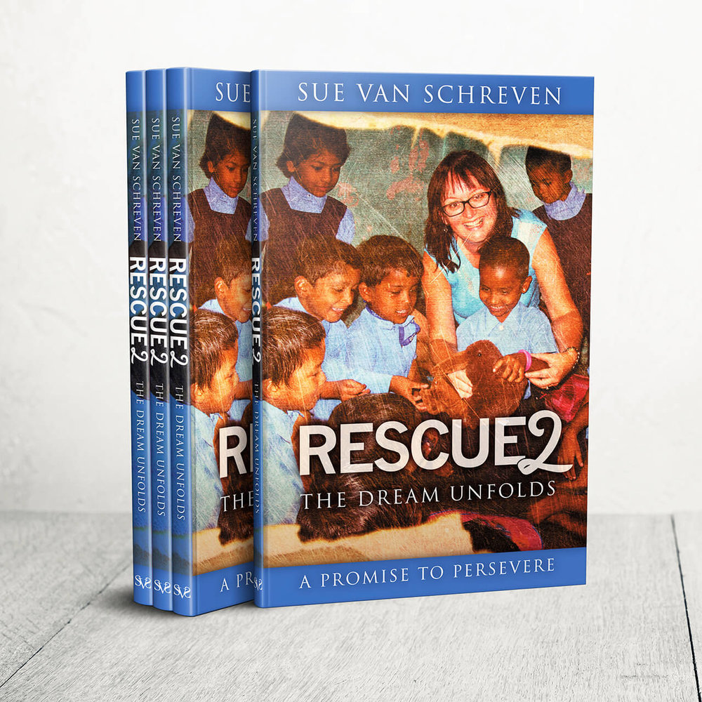 Rescue  2: The Dream Unfolds. By Sue van Schreven. RRP NZ $24.99. ISBN: 978-0-473-41850-2. 124 Pages.