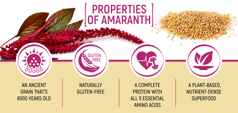 Amaranth is awesome. Here are just a few reasons why we think it's the perfect food.