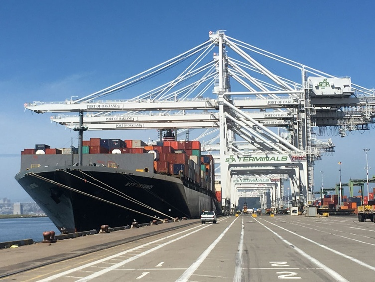 Port of Oakland March Shipping Volume Surges — Oakland