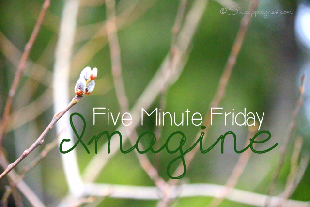 Five Minute Friday: Imagine