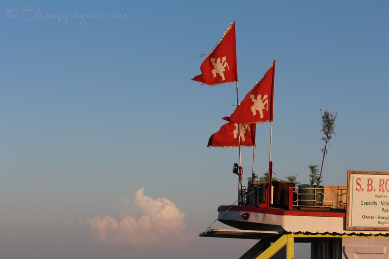 the ferry flags