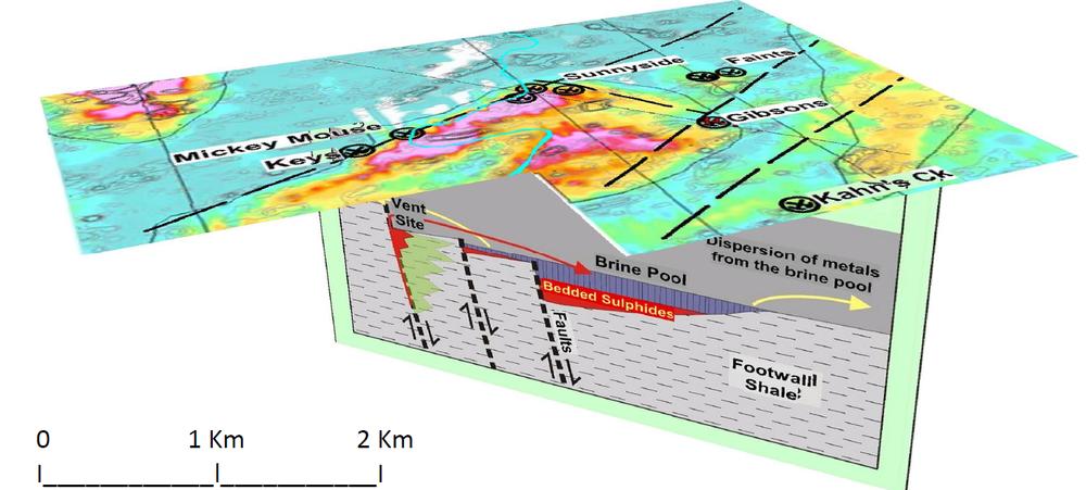 Many Additional Quality VTEM Targets, e.g. Halls Peaks Spike Island Modelled Anomaly Similar to Caber Deposit Canada
