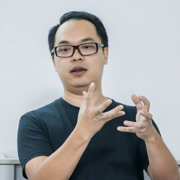 Howie Chang, Co-Founder and CEO    Known to many for his zeal for entrepreneurship and innovation, Howie is the Chief Executive Officer of Ayuh Bina. He helps the team break through great barriers—and more importantly, seeks to create a culture of innovation beyond the sticky note.
