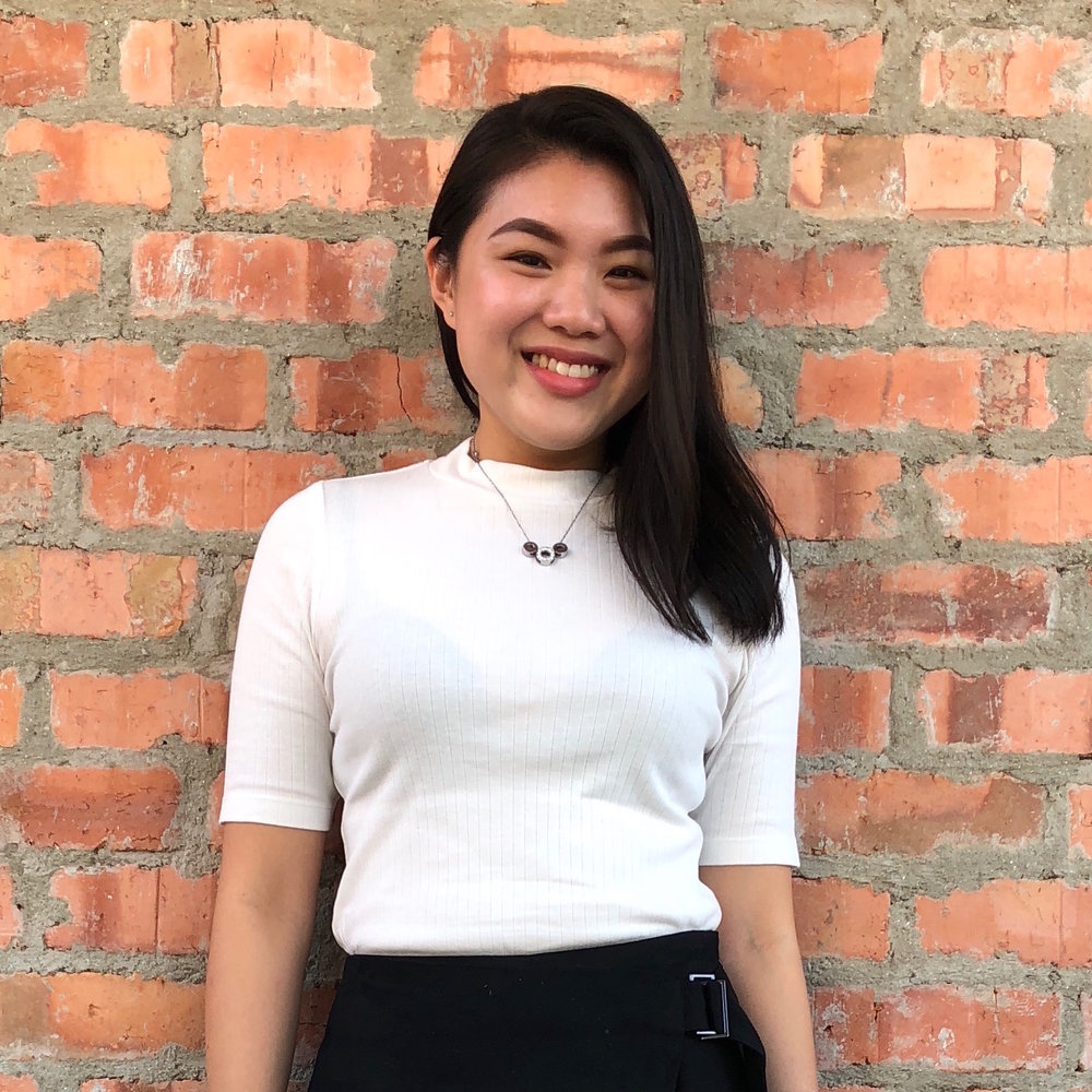 Miki Tan, Marketing Executive    A pure Chemistry graduate with a knack for design, Miki is the Marketing Executive of Ayuh Bina. She's involved in developing intuitive marketing campaigns that best communicate the company's core values.