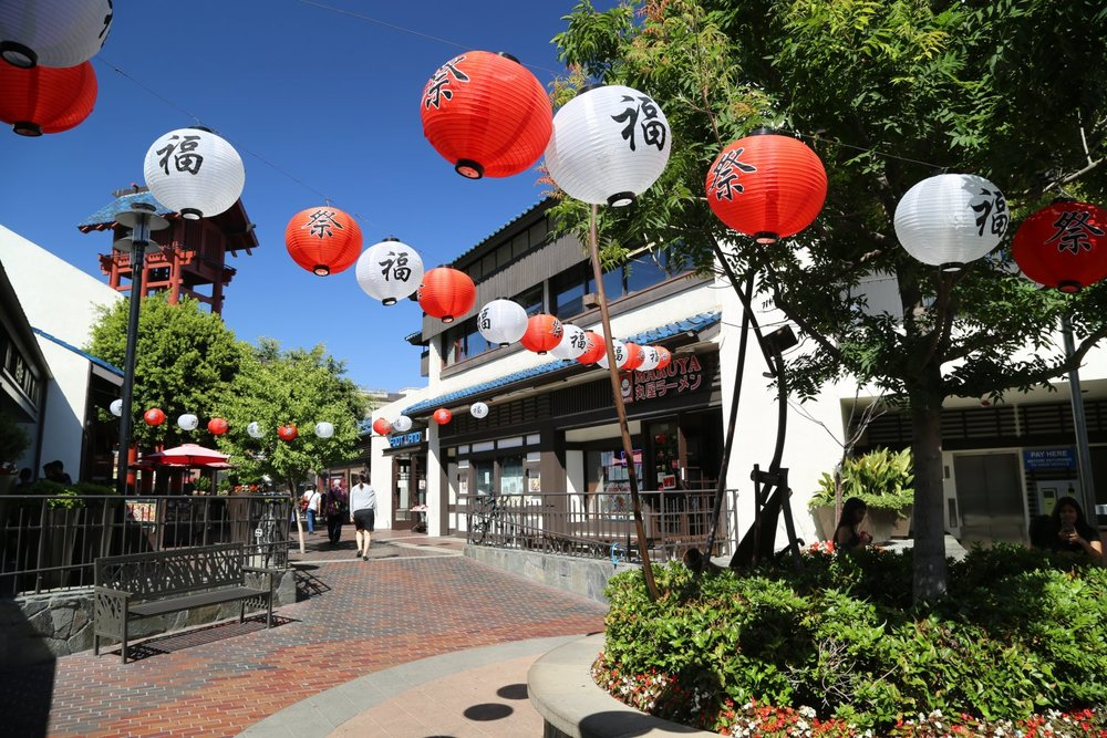 Little Tokyo - Adventures at TrojanMUN begin in Little Toyko, a neighborhood in Central L.A. that bursts with energy.