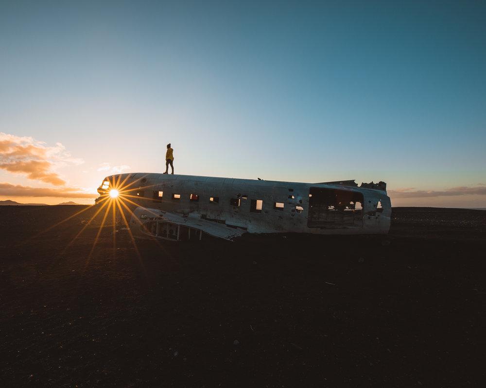 Solheimassandur Plane Wreck