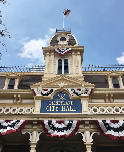 "City Hall at Disneyland is still your one-stop shop for birthday & ""first-time visit"" buttons, a list of horse names at the King Arthur Carrousel, times for Character Meet & Greets, Disability Access Service registration, among many other things!"
