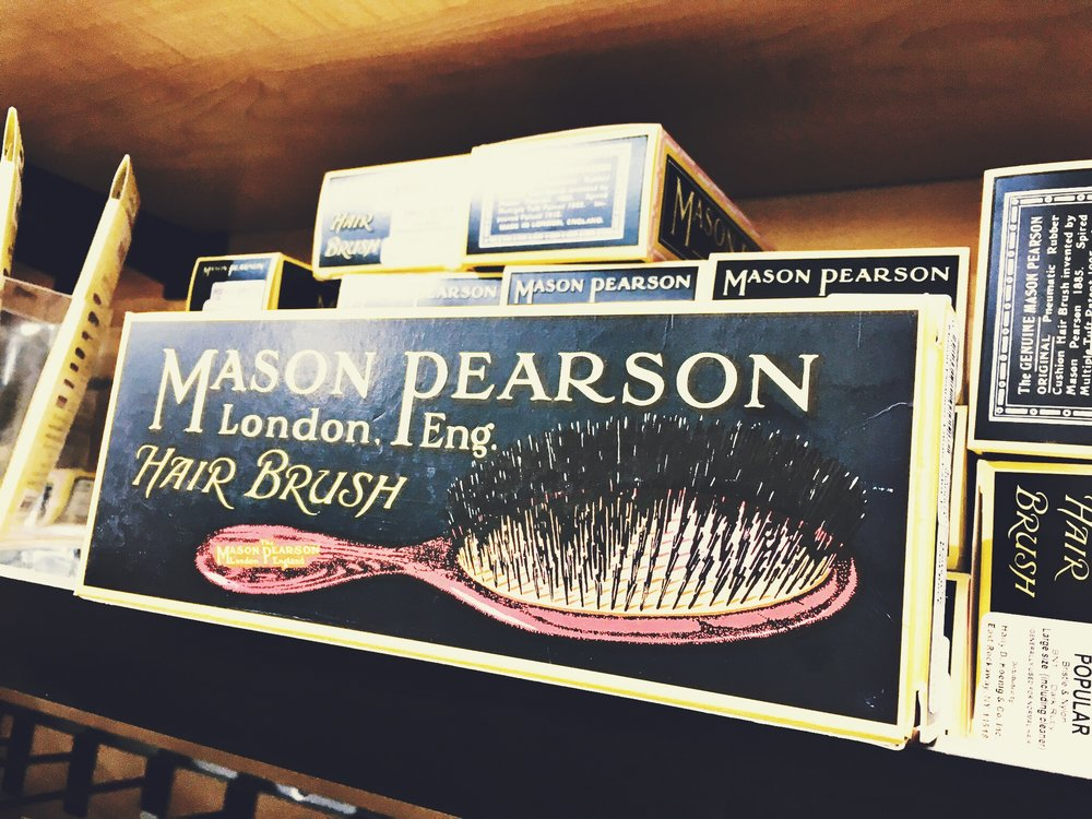 Mason Pearson's rubber-cushion hairbrush is considered one of the best brushes in the world. The retail price for a large-size brush is around $350.