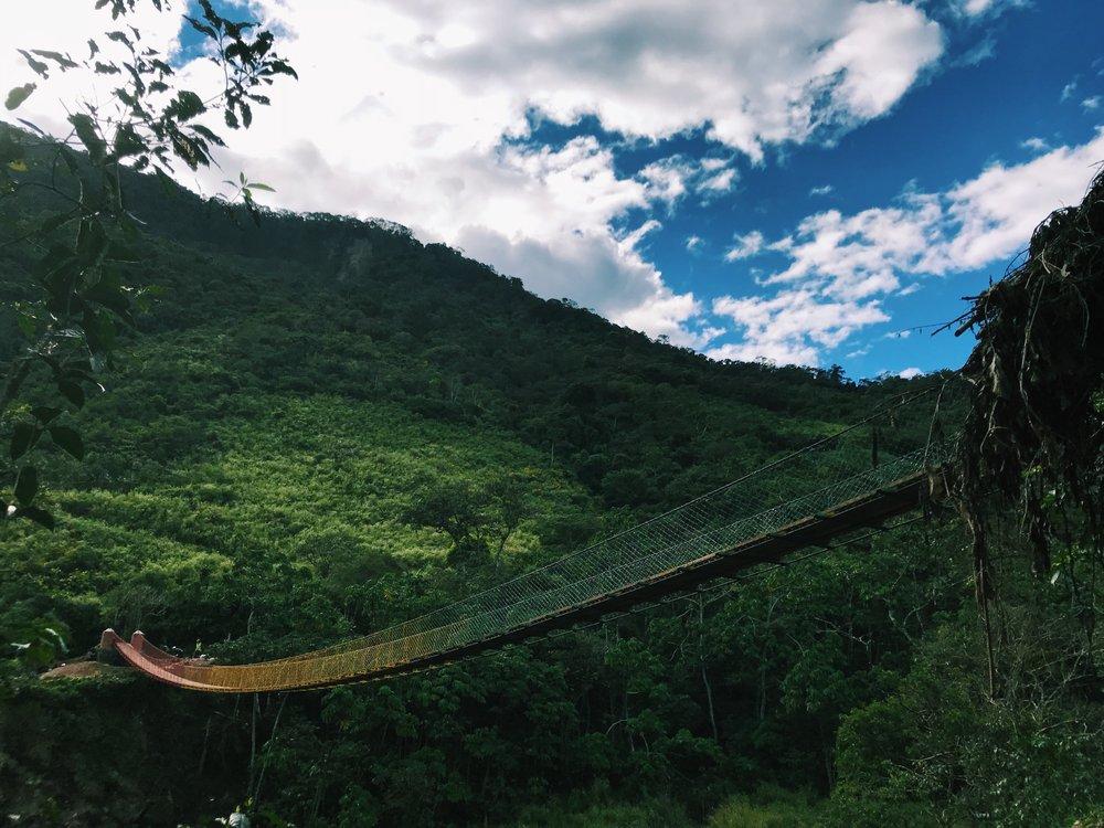 2018 Finished Bridges: Rebecca Leggett, Duke University   Mision Mayu
