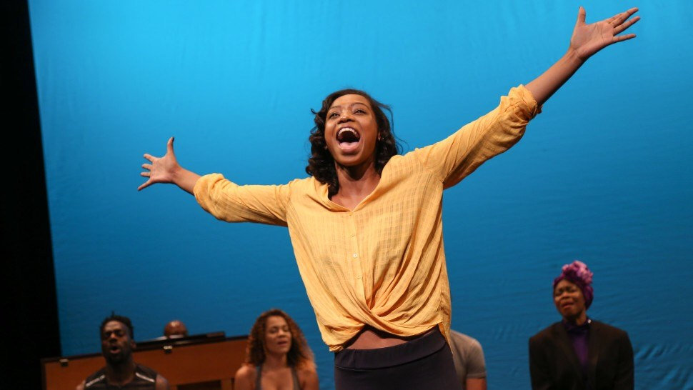 Hailey Kilgore in Once on this Island, David Gordon