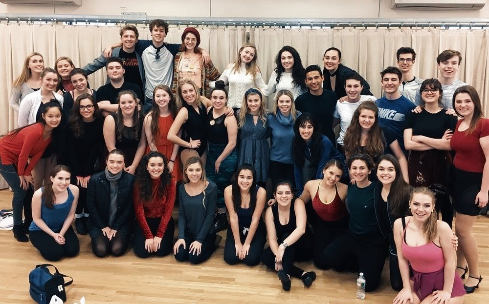 MTCA January Mock Audition group and Alumni Guest Speakers